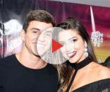 Vivian Amorim e Manoel Rafaski estavam juntos desde o 'BBB 17