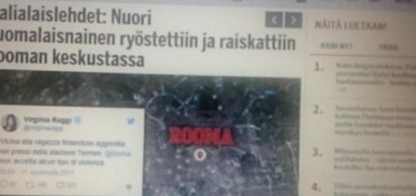 I media finlandesi hanno dato risalto alla notizia della connazionale violentata a Roma