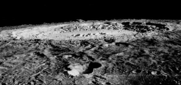 Limb of Copernicus Impact Crater (Credit wikimediacommons)