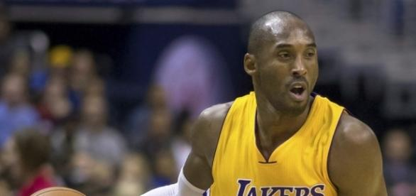 The 39-year-old Kobe Bryant spent his 20-year NBA with the Lakers -- Keith Allison via WikiCommons