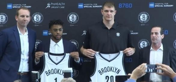 The Nets are welcoming a new center to join Timofey Mozgov -- Ximo Pierto via YouTube