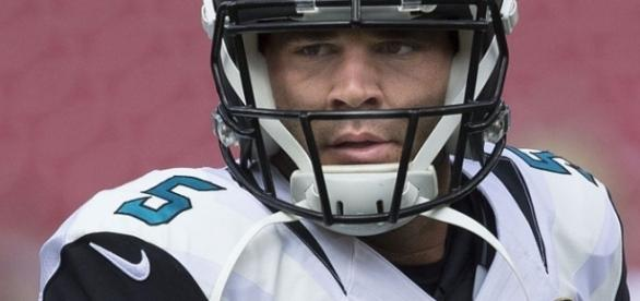 The prying eyes of Blake Bortles. Image Credit: Keith Allison / Flickr