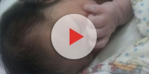 Bebê cai no chão após parto na recepção do Hospital do Gama (Reprodução Internet)