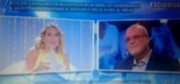 Da sinistra Barbara D'Urso e Gino Cecchini