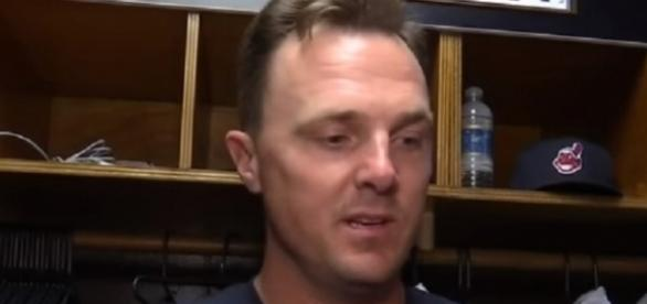 Jay Bruce hit his 34th homer of the year in the Indians' win -- FOX Sports Ohio via YouTube