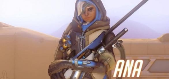 'Overwatch' hero Ana. (image source: YouTube/PlayOverwatch)
