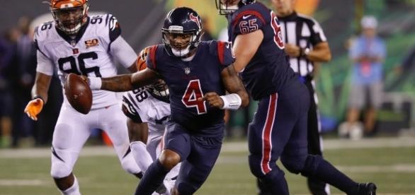 Watson tuvo su primer inicio y primera victoria en la NFL. SkySports.com.