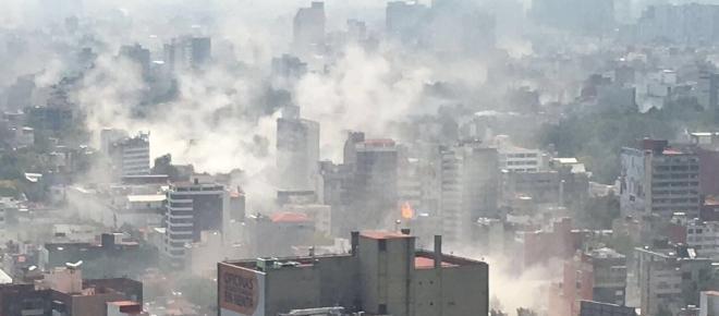 México sucumbida por el terror