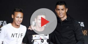 El momento épico entre Cristiano Ronaldo, Lionel Messi y Neymar ... - diez.hn