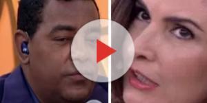 Fátima Bernardes não gosta de comentário de líder do Raça Negra