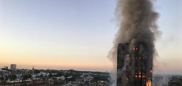 Grenfell Tower tragedy. Public inquiry starts today.( photo ;https://twitter.com/Natalie_Oxford/status/874835244989513729/photo/1)