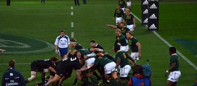 Rugby Fans excitement grows as the All Blacks and Springboks ready for battle