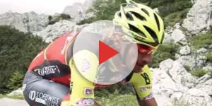 Filippo Pozzato in maglia Wilier Selle Italia