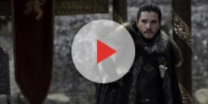 Jon Snow no último episódio da sétima temporada de Game of Thrones