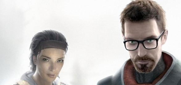 Alyx Vance and Gordon Freeman in Half-Life 2 (source: Flickr)