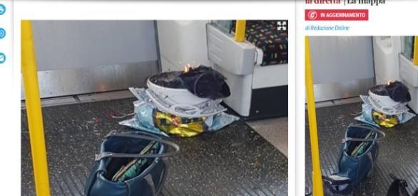 Esplosione su metro Londra 15 settembre 2017