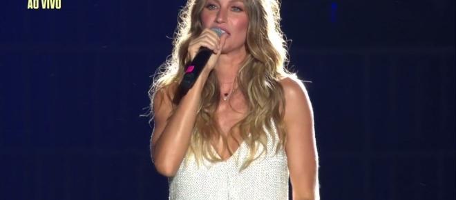 Rock in Rio: Gisele Bundchen chora na abertura do festival e Ivete faz surpresa