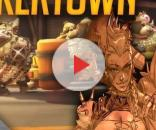 Blizzard's Jeff Kaplan reveals details about new character, code-named Hero 26. [Image via YouTube/Junkertown]