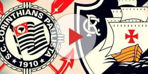 Corinthians e Vasco se enfrentarão no próximo domingo (17); Timão terá reforço