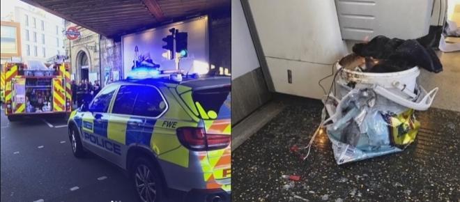 London tube bombing: Manhunt underway for multiple suspects