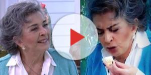 Ana Maria Braga toma café da manhã com Betty Faria