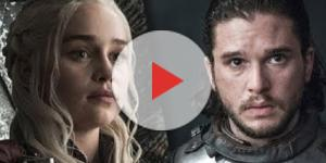 Dany, Jon Snow in 'Game of Thrones' - Image via YouTube/Jon Snow