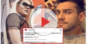 O cantor comentou e recebeu uma resposta de Pabllo Vittar ( Fotos - Instagram )