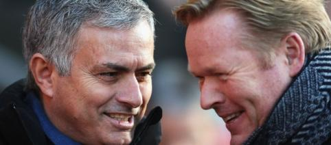 Ronald Koeman and Jose Mourinho have worked together at Barcelona - mirror.co.uk
