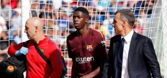 Barcelona blow as Ousmane Dembele out for up to four months after ... - thesun.co.uk