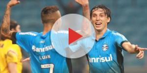 Geromel e Luan - Dupla gremista na Libertadores
