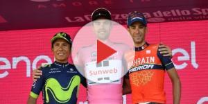 Giro d'Italia, il podio dell'ultima edizione