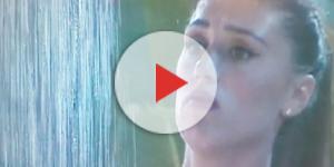 La doccia di Cecilia Rodriguez al Gf Vip 2