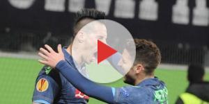 Napoli Benevento Mertens Hamsik - napolisupporters.com
