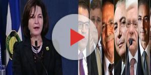 Raquel Dodge assume a PGR sob os olhares dos líderes dos três poderes
