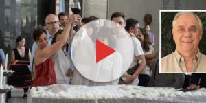 Velório de Marcelo Rezende é encerrado com um brinde