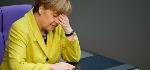 Protesters rage against Merkel ... - mashable.com