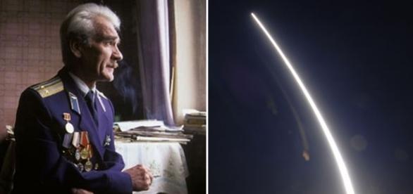 Stanislav Petrov, fostul locotenent-colonel din armata sovietică, ce a evitat declanșarea unui război nuclear - Foto: www.rt.com