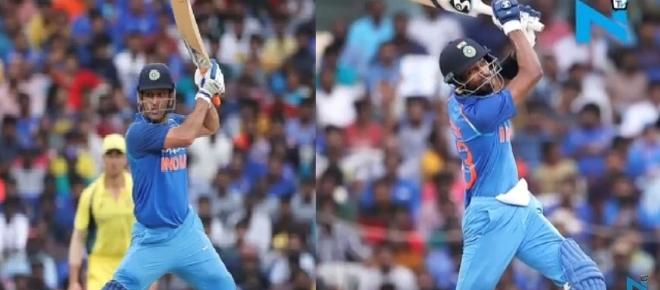 Dhoni ,Pandya usher in victory for India over Australians