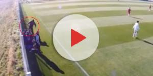 Un joueur de Toulouse frappe un de ses entraîneurs ! (image d'illustration)