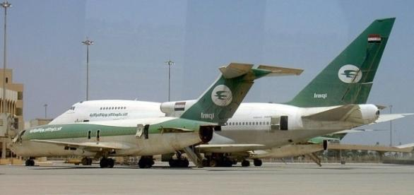 Iraq Airways Boeing at Baghdad International Airport (Credit – Jim Gordon - Wikimedia Commons)