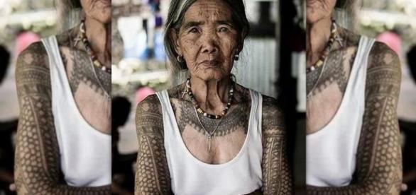 """""""Un uomo senza tatuaggi resta invisibile agli occhi degli Dei"""" (proverbio Iban)."""