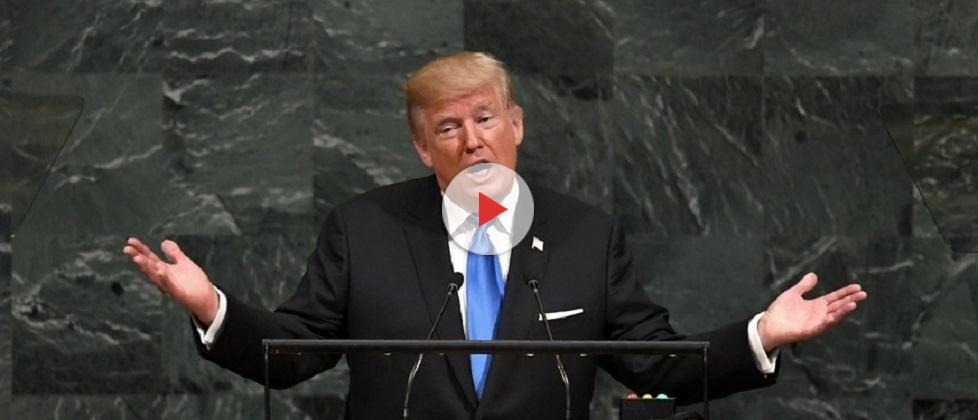 """Trump diz que vai """"destruir totalmente"""" a Coreia do Norte se não tiver escolha"""