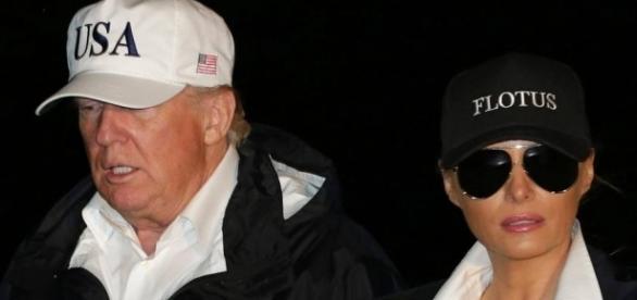 Donald Trump im Krisenmodus: US-Präsident besucht Flutgebiet in ... - stern.de