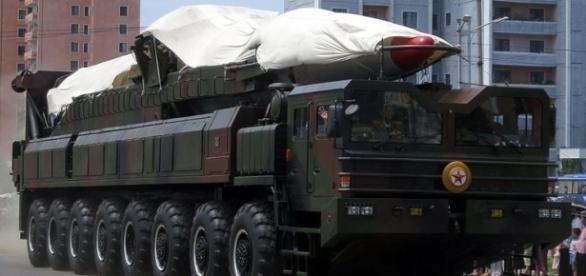 North Korea's ballistic missile (Credit - Stefan Krasowski – wikimediacommons)