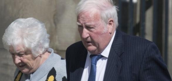Ruth e Robert Fergus foram condenados a pagar multa de £ 4.100 por causarem alvoroço e destruição em hotel