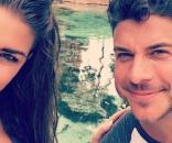 Brittany Cartwright and Jax Taylor enjoy a vacation. [Photo via Instagram]