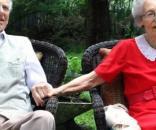 Casal emociona o mundo após morrerem com horas de diferença
