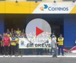 A empresa Correios entra em greve junto com outros estados