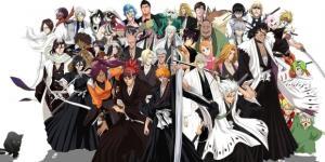 Tutti i personaggi di Bleach - via inverse.com