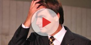 Bolsonaro se mostra preocupado com a situação do Brasil